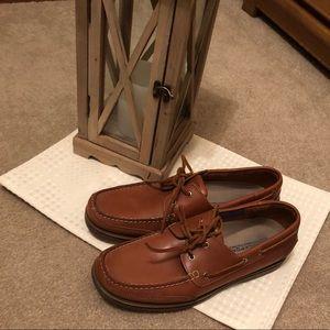 Rockport men's brown loafer size 11